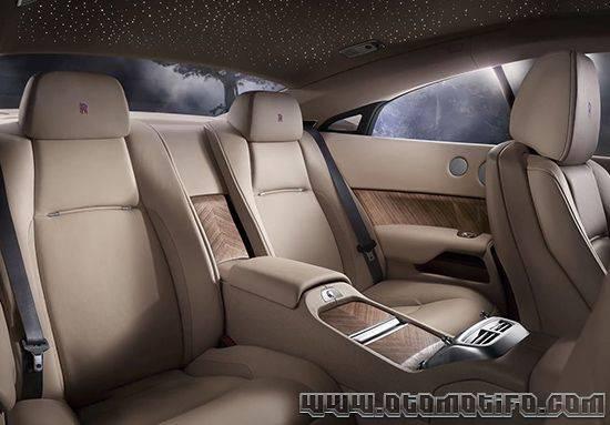 Interior Rolls Royce Wraith