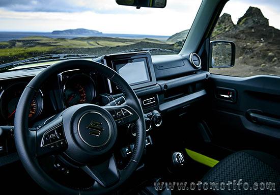 Dashboard Suzuki Jimny