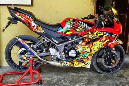 Modif Ninja RR Airbrush