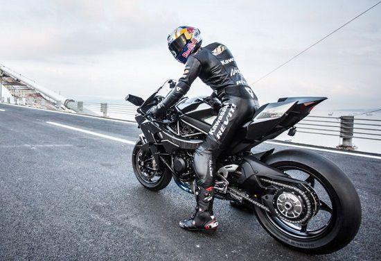 Rekor Kawasaki Ninja H2R
