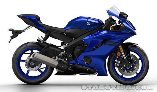 Warna Yamaha R6 Biru