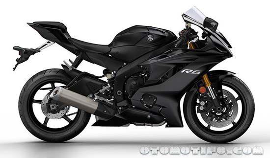 Warna Yamaha R6 Hitam