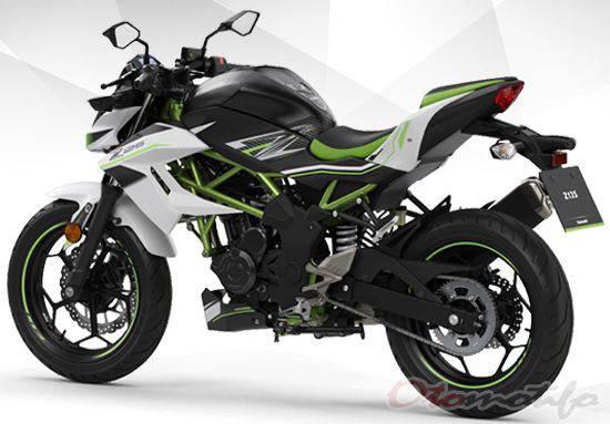 Desain Kawasaki Z150