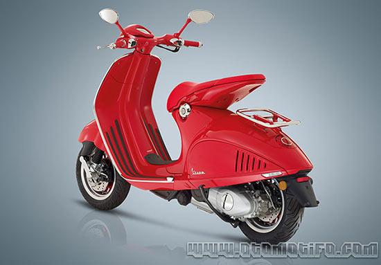 Desain Motor Vespa 946 Red