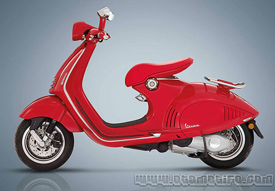Suspensi Vespa 946 Red