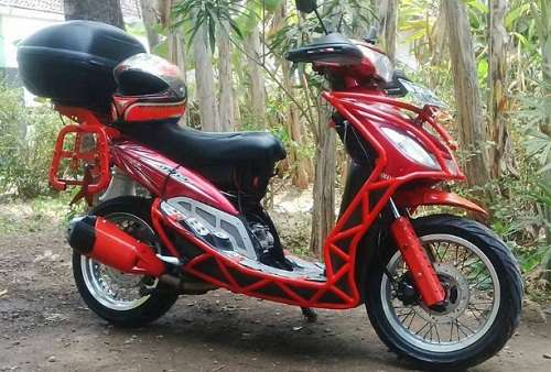 Foto Modifikasi Mio Touring