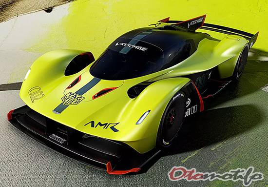 Gambar Aston Martin Valkyrie AMR Pro