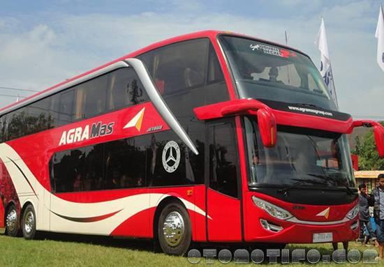 Gambar Bus Agra Mas