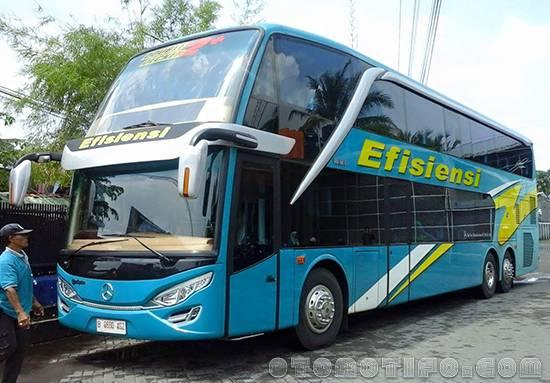Gambar Bus Efisiensi Double Decker