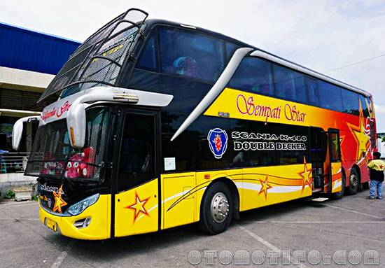 Gambar Bus Sempati Star Double Decker