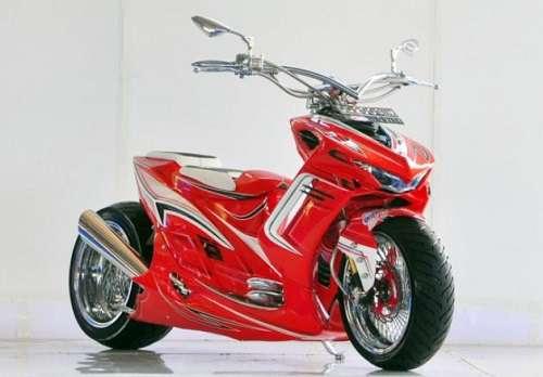 Gambar Modifikasi Yamaha Mio Ekstrim