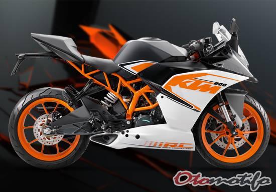 Harga KTM RC 200 Terbaru