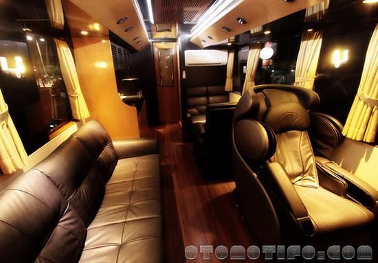 Interior Bus AM Trans Luxurios