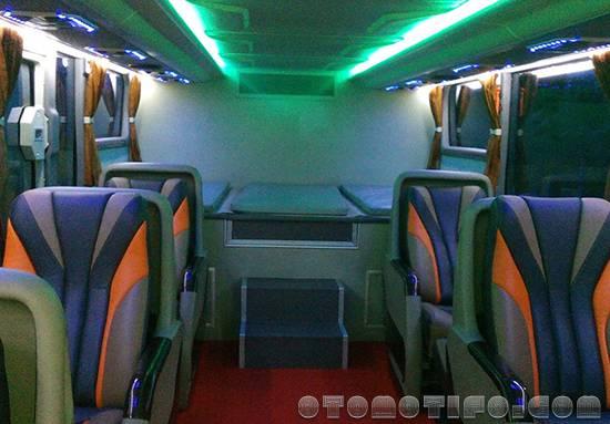 Interior Bus Efisiensi Double Decker