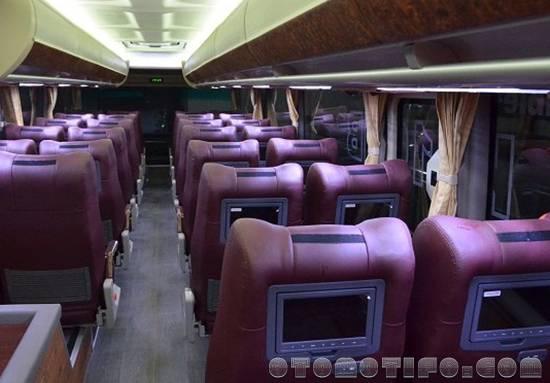Interior Bus Putera Mulya