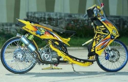 Modifikasi Mio Drag