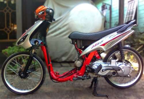 Modifikasi Mio Ring 17