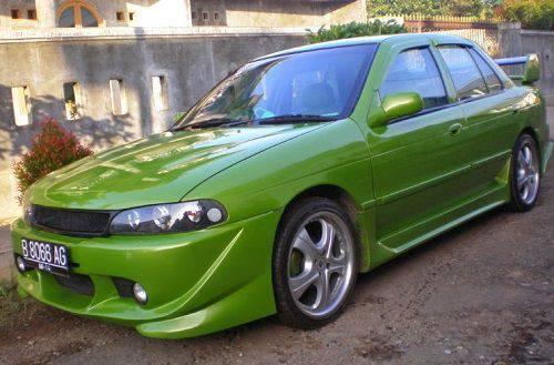 Modifikasi Mobil Sedan Timor