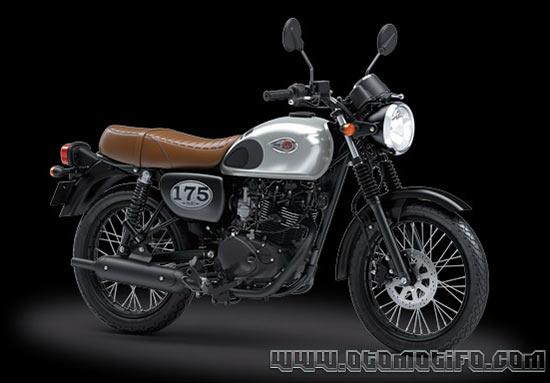 Motor Retro Kawasaki W175 SE