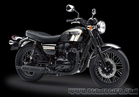 Motor Retro Kawasaki W800 SE