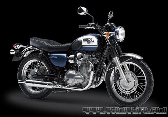 Motor Retro Kawasaki W800