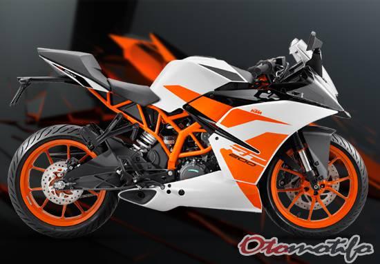 Spesifikasi dan Harga KTM RC 200