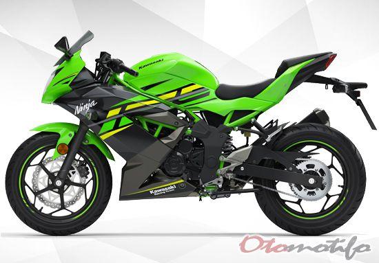 Tampak Samping Kawasaki Ninja 125
