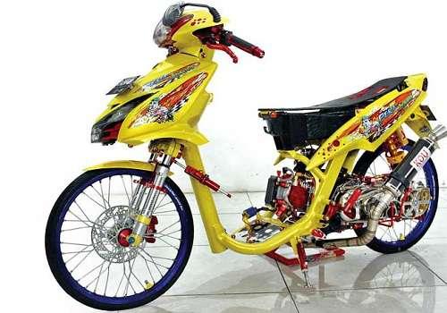 Modifikasi Mio Terbaru 2019 Simple Thailook Sporty Otomotifo