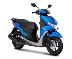 Warna Yamaha FreeGo Biru