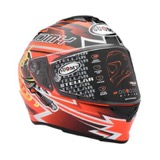 Gambar Helm Soumy Stellar Boost Orange
