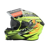 Gambar Helm Soumy Stellar Boost Yellow