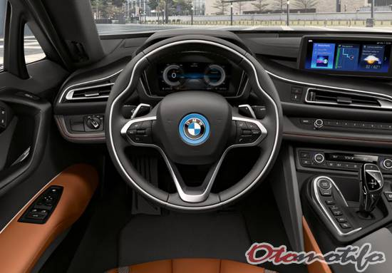 Gambar Interior BMW i8 Coupe