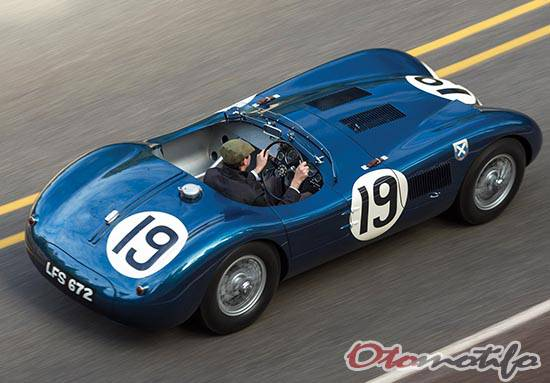 Gambar Jaguar C-Type Works Lightweight 1953