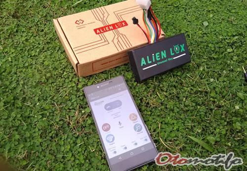 Harga Alarm Motor Alien Lox