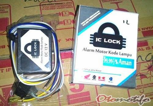 Harga Alarm Motor IC Lock