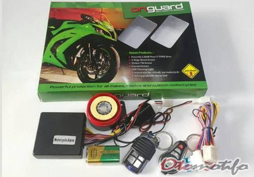 Harga Alarm Motor On-Guard