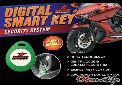 Harga Alarm Motor iMax Digital Smart Key