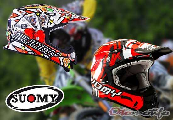 Harga Helm Motocross Suomy