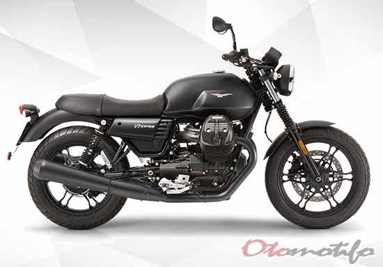 Harga Motor Moto Guzzi V7 III Carbon Dark