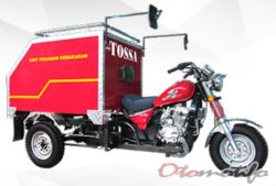 Modifikasi Bak Pemadam Motor Roda Tiga Tossa