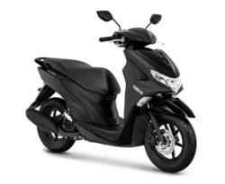 Warna Yamaha FreeGo Hitam
