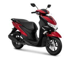 Warna Yamaha FreeGo Merah