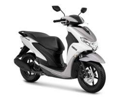 Warna Yamaha FreeGo Putih