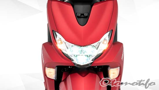 Desain Headlamp Yamaha FreeGo 125
