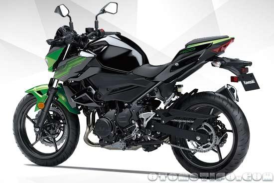 Desain Kawasaki Z400