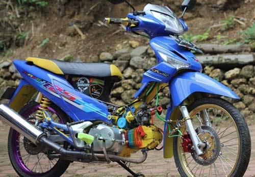 Gambar Honda Supra X Modif Thailook