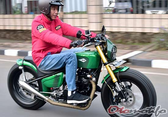 Gambar Motor Custom Jokowi