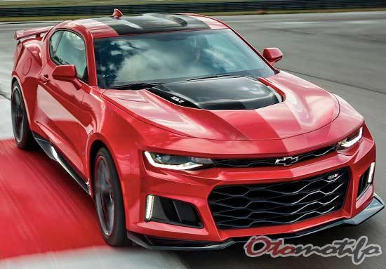 Spesifikasi dan Harga Chevrolet Camaro