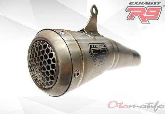 Harga Knalpot R9 GP Titanium