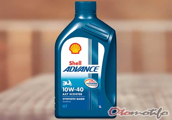 Shell Advance 4T AX7 Scooter